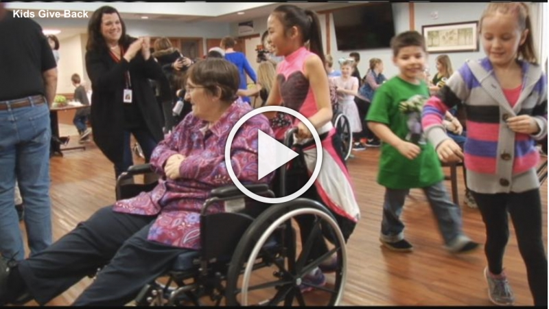 WQOQ features River Pines residents dancing with Longfellow students