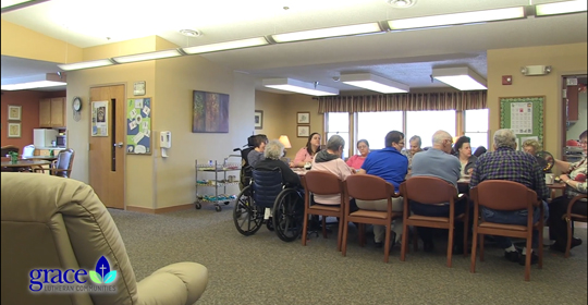 Developmentally disabled adult day care wi